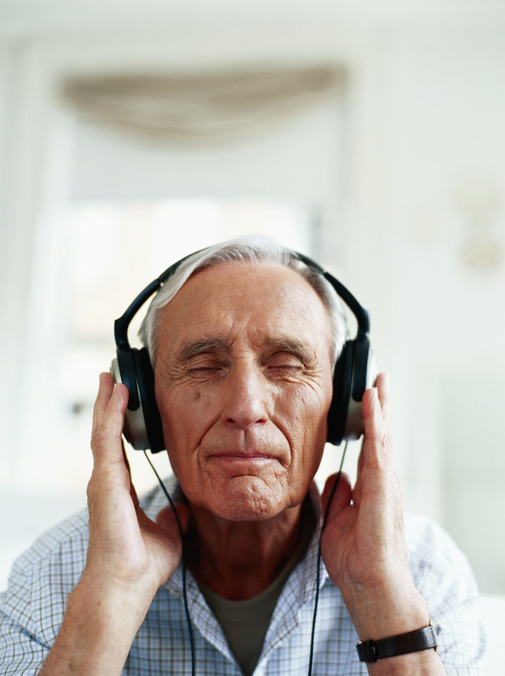Photo - A good set of headphones and a little Bach may ease the pain and anxiety of getting a prostate biopsy, according to a newly published study by Duke Cancer Institute researchers.