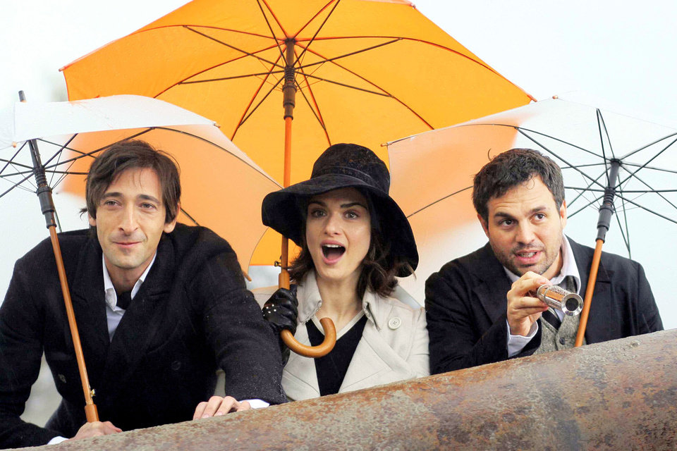 "Photo - Adrien Brody, Rachel Weisz and Mark Ruffalo star in ""The Brothers Bloom."" SUMMIT ENTERTAINMENT photo"