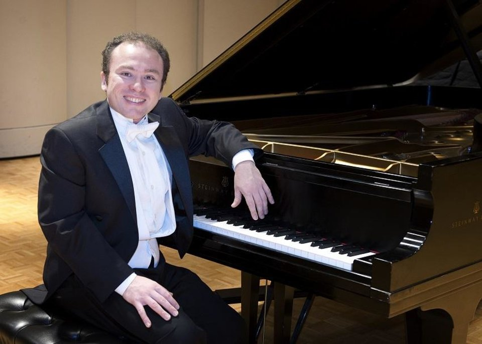 Photo - Sergio Monteiro, the director of piano activities at the Wanda Bass School of Music at Oklahoma City University, will make his debut Sept. 15 on Virginia Campbell's 37th Annual Piano Artist Series alongside his wife Lauren Monteiro, a freelance flutist, teacher and music critic as well as a faculty member at Murray State College and Oklahoma City Community. [Photo provided]