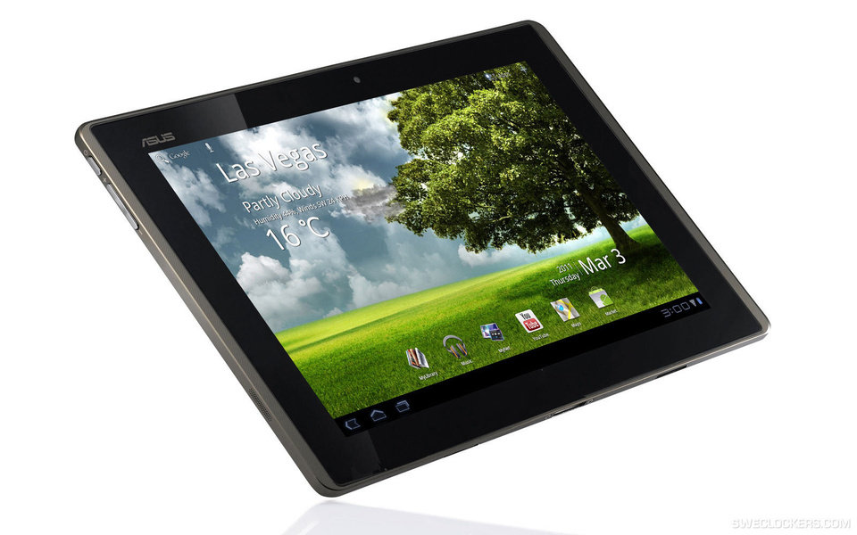 Photo - Asus Eee Pad. Photo Provided.