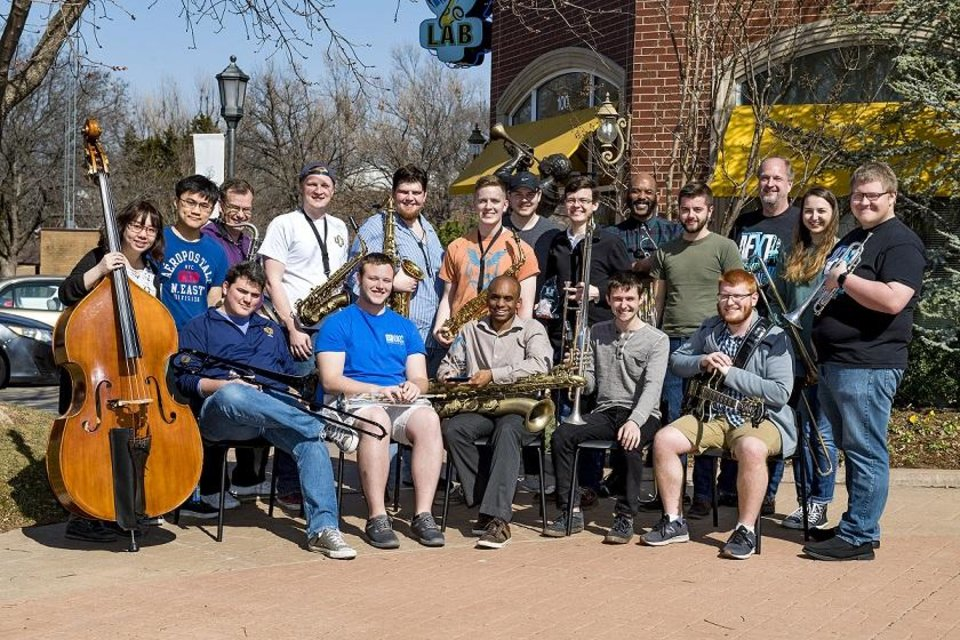 "Photo - The University of Central Oklahoma Monterey Jazz Festival Ensemble will present ""Swing to Monterey,"" a farewell concert and CD release party at 8 tonight at Edmond's UCO Jazz Lab, 100 E Fifth. Photo provided"