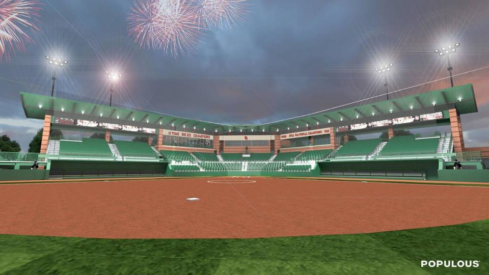 Master Plan Completed For Ou Baseball And Softball