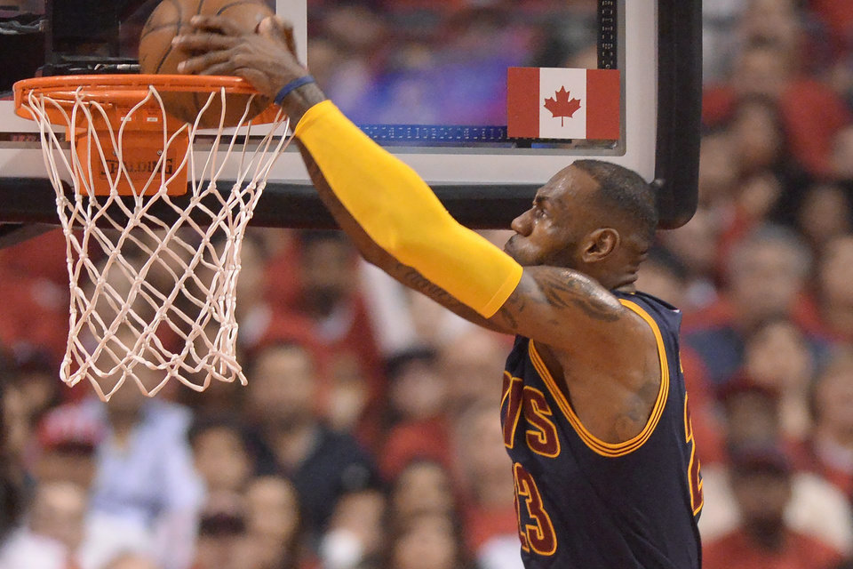 Cavs win Game 6 with Raptors, take Eastern Conference Finals
