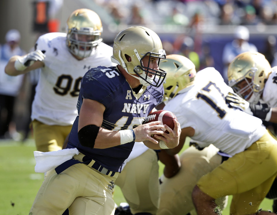 ncaa football scores from yesterday notre dame college football score