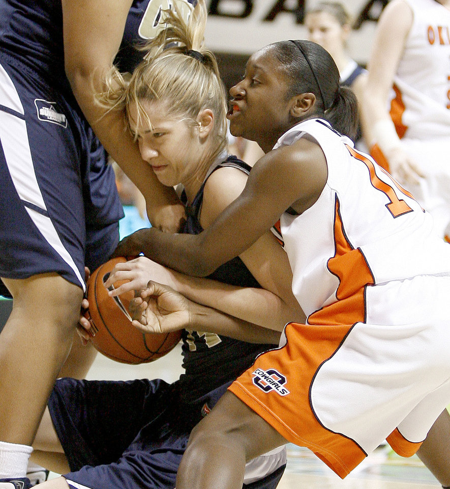 OSU's Andrea Riley sets career scoring mark | News OK