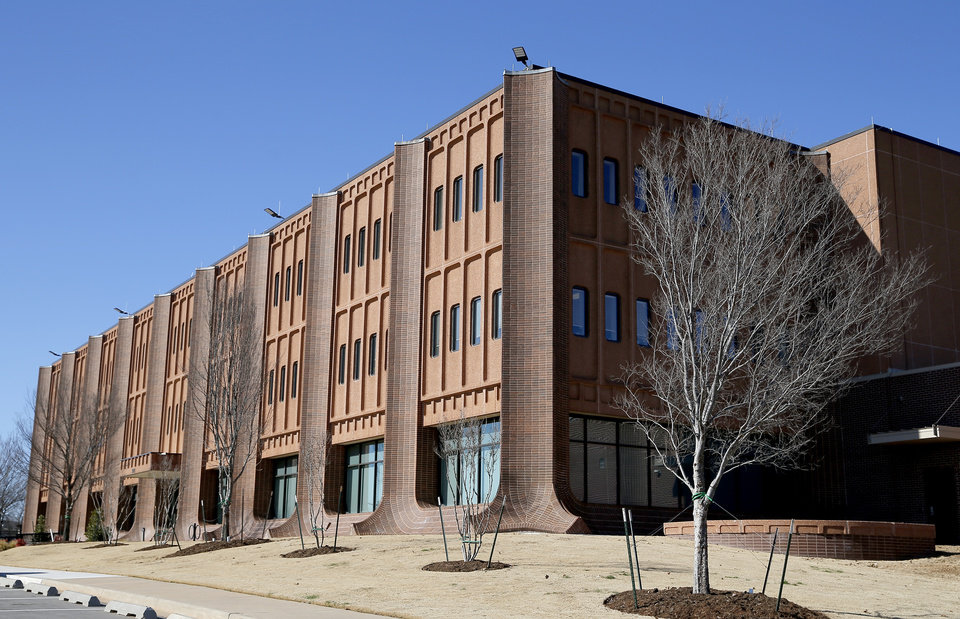 Photo -  The former Oklahoma City-County Health Department building at 921 NE 23, renovated and operated by one of numerous real estate investment partnerships involving Wiggin Properties LLC. [PHOTO BY SARAH PHIPPS, THE OKLAHOMAN]
