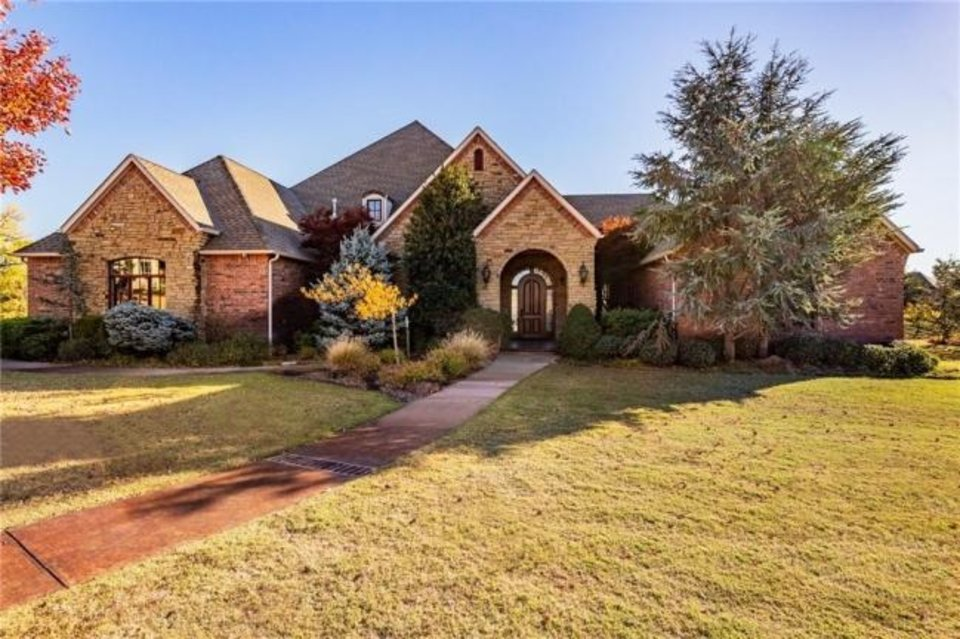 Photo -  The Listing of the Week is at 21850 Water Oak Circle in Edmond. [PHOTO PROVIDED]