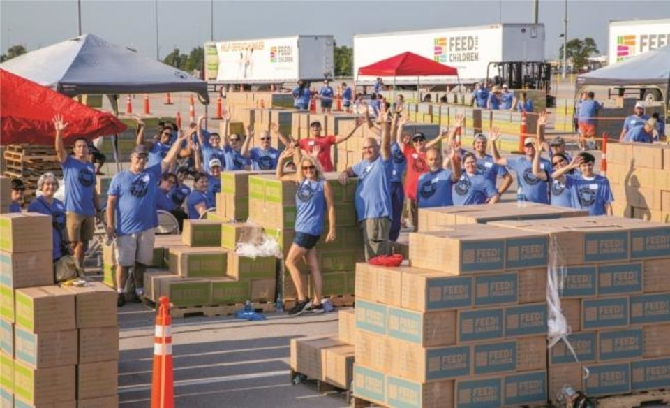 Photo -  As the core carrier for Feed the Children, FTC Transportation employees assist with hunger and disaster relief efforts throughout the United States. [provided]