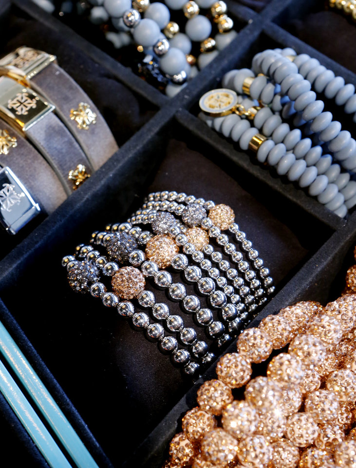 A Display Is Full Of Rustic Cuff Jewelry At The Clen Curve Location In Oklahoma City On Feb 27 Photo By Steve Sisney Oklahoman