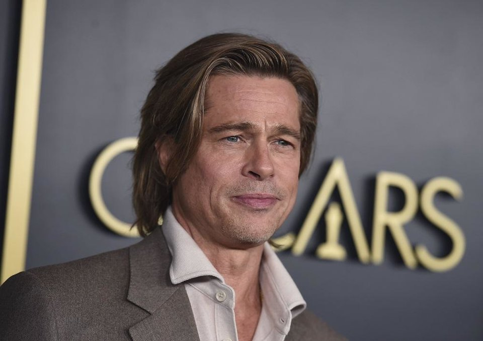 Photo - Brad Pitt arrives at the 92nd Academy Awards Nominees Luncheon at the Loews Hotel on Monday, Jan. 27, 2020, in Los Angeles. [Photo by Jordan Strauss/Invision/AP]
