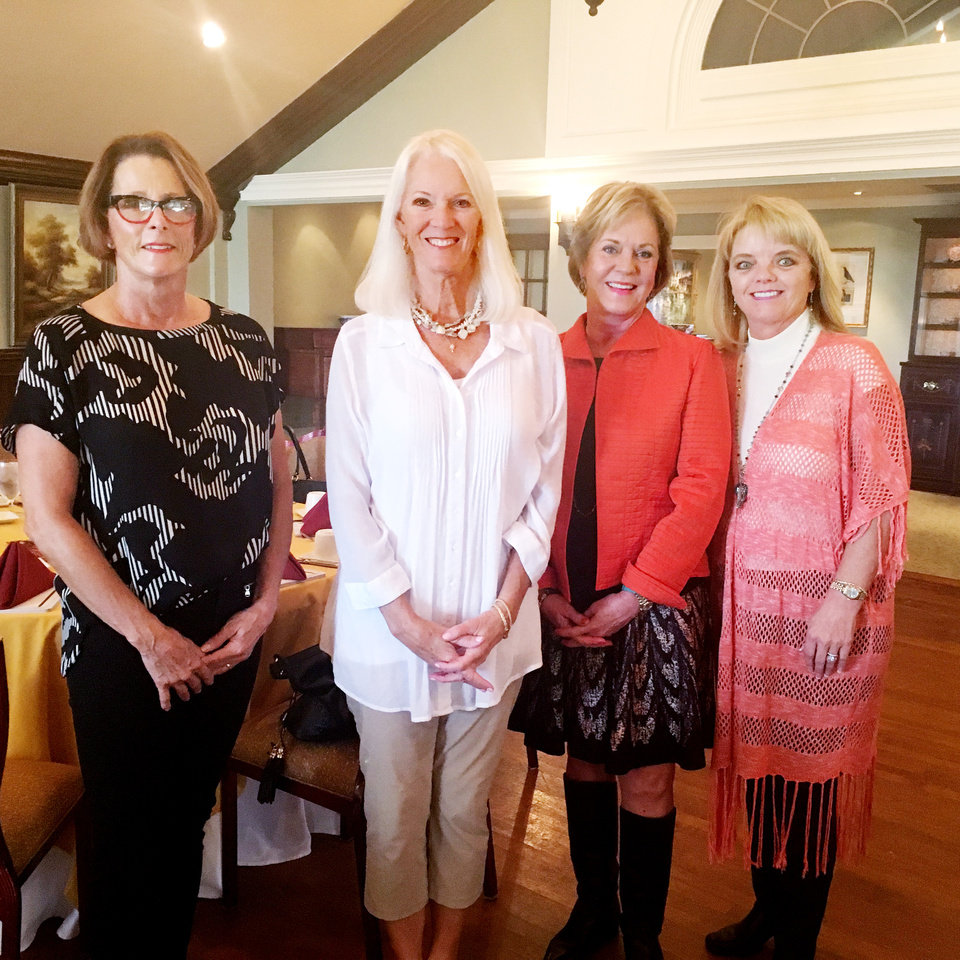 Photo - Cindy Arnold, Ellen Lisle, Lori Hill, Jill Dobbins. PHOTO PROVIDED