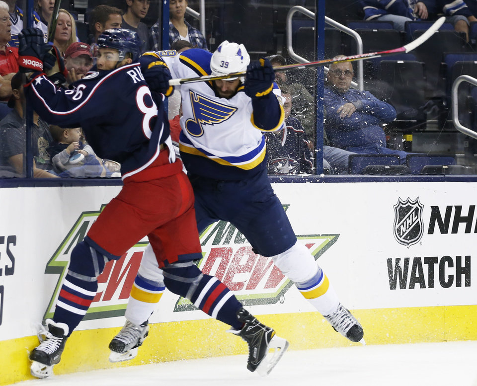 Blues open NHL preseason with 2 wins against Blue Jackets | News OK