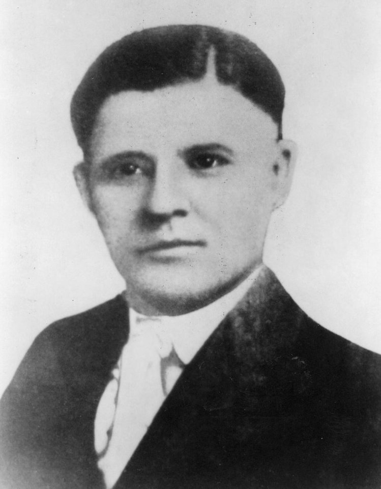 "Photo - Charles ""Pretty Boy"" Floyd,  a famous outlaw from Eastern Oklahoma who was blamed for many crimes he didn't commit."