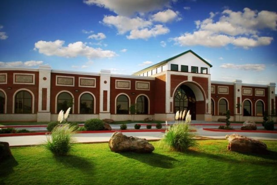 Photo -  Mercy School Institute, an Islamic school in Oklahoma City, is shown in this photo featured in the first