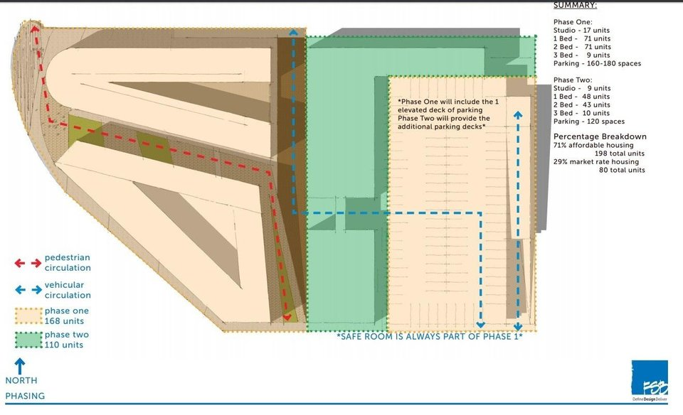 Photo - Floor plan for Alley's End. [Provided by FSB]