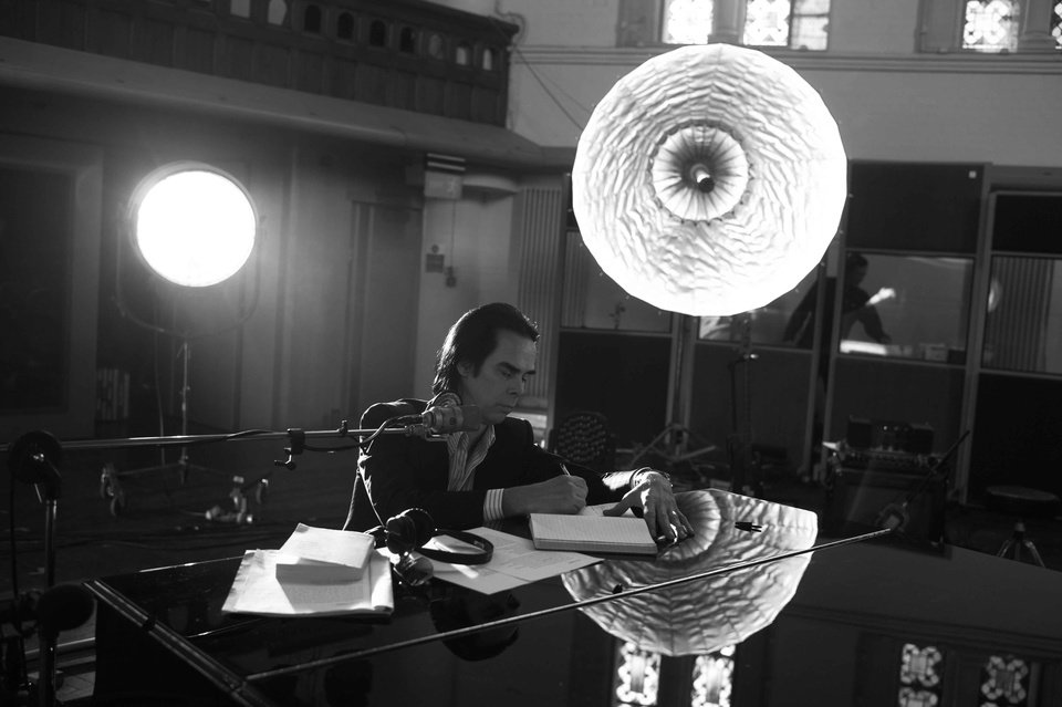 "Photo -  Nick Cave in the documentary ""One More Time With Feeling"" [Photo provided by Picturehouse Entertainment]"
