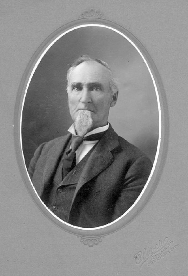Photo - James Wheeler was a city civic leader who dated land for creation of Wheeler Park, which was once home to the city's zoo and other attractions. The park remains, located across from the Wheeler District at the former Downtown Airpark. [PHOTO PROVIDED BY METROPOLITAN LIBRARY SYSTEM]