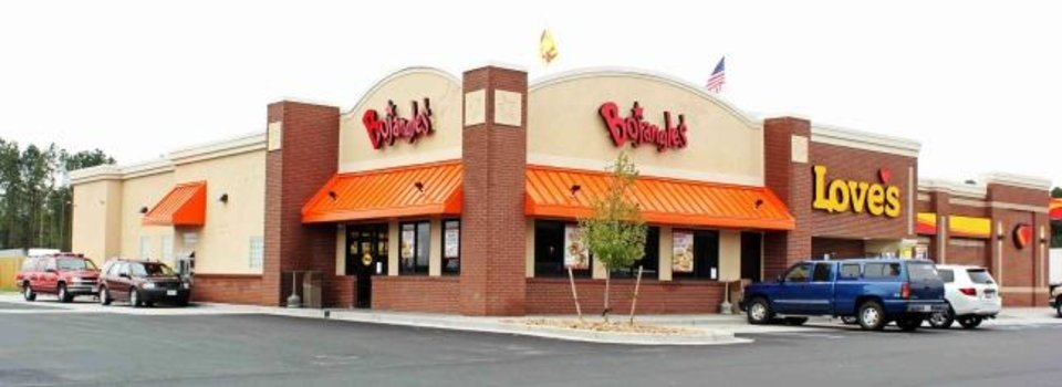 Photo -  Bojangles', the North Carolina-based chain of chicken-and-biscuit restaurants, will open shop in 40 Love's Travel Stops in four states, including Oklahoma. [Provided Photo]