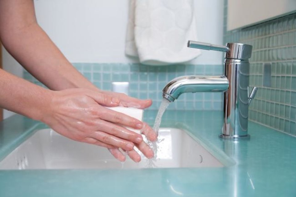 "Photo -  Handwashing and maintaining a clean living area are still important, Dr. Eliza Chakravarty said, ""but there's a difference between a healthy level of cleanliness and essentially living in a bubble."" [Metro Creative Connection]"