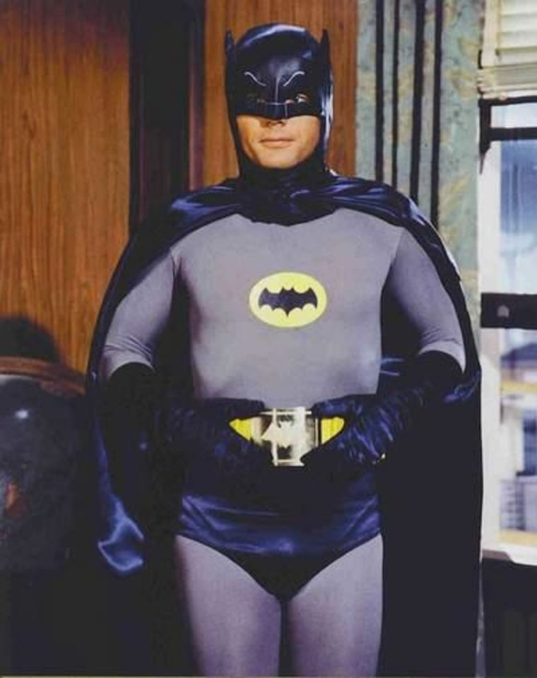 Photo -  Adam West's Batman was considered a high point of the