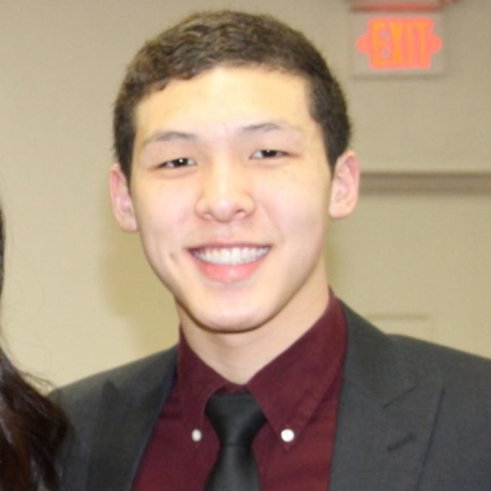 Photo -  Norman North's Jonathan Tang is a member of The Oklahoman's All-City team. [Photo provided]