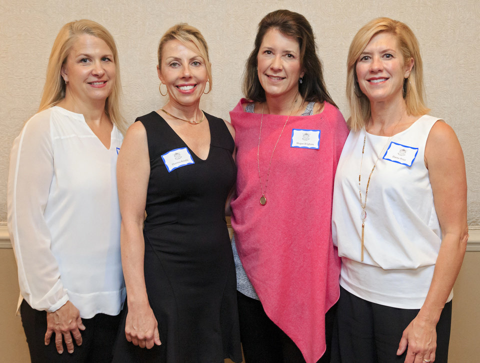 Photo - Lisa McDonald, Theresa Bozalis, Megan Brigham, Elaine Price. PHOTO BY CHRIS LANDSBERGER, THE OKLAHOMAN