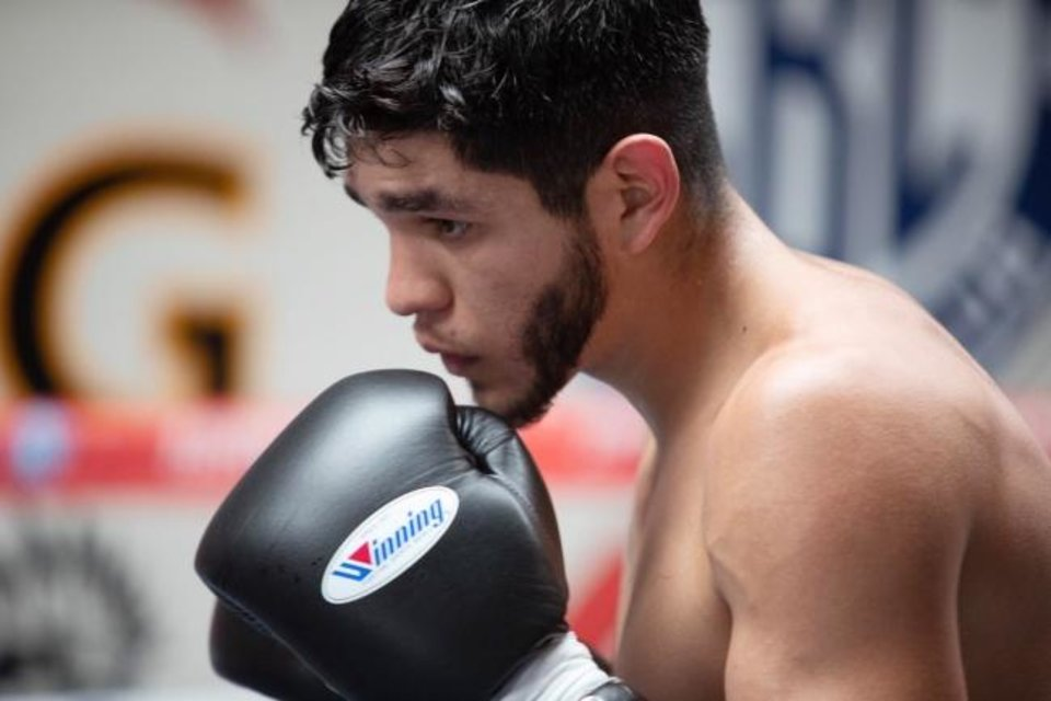 Photo -  Oklahoma City boxer Alex Saucedo will fight Tuesday night for only the second time since losing a world-title bout in Nov. 2018. He was dominant his last time out, scoring a first-round knock out. [CHURCHILL BOXING]
