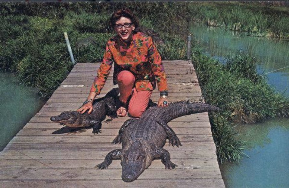 Photo - Postcard of ARK (Animal Reptile Kingdom) and Catoosa Alligator Ranch, Catoosa. Photo Provided  Photo Provided