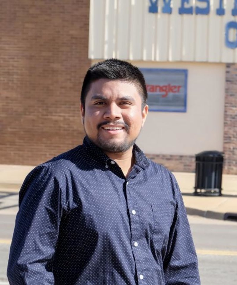 Photo -  Cristian Zapata, 21, is running for Oklahoma House District 89.