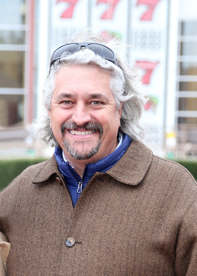 Photo -  Hall of Fame trainer Steve Asmussen [PHOTO BY DUSTIN ORONA PHOTOGRAPHY]