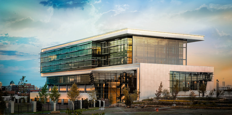 Photo -  The BHGE Energy Innovation Center of North America in Oklahoma City is the home of NextStream Growth I, a new, early stage technology development company. [Photo provided by NextStream Growth I]