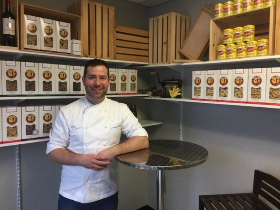 Photo -  Chef Chris Becker is the man behind Della Terra Fine Pasta. Their retail products are shipped to restaurants in New York and Portland, but the company is based in Oklahoma City.[Courtesy Oklahoma Department of Tourism and Recreation]