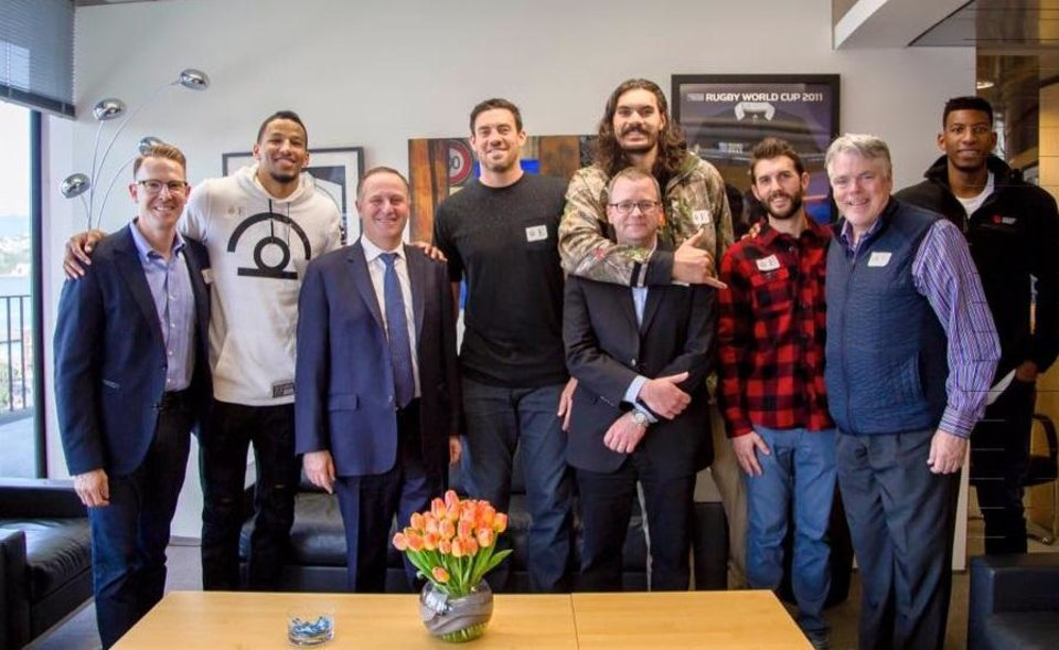 PHOTOS: Steven Adams, Thunder visit with New Zealand's ...