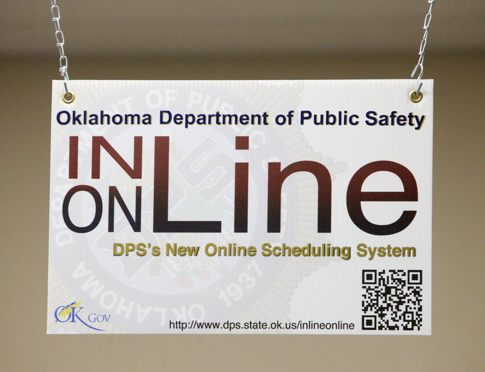 oklahoma department of public safety drivers license appointment