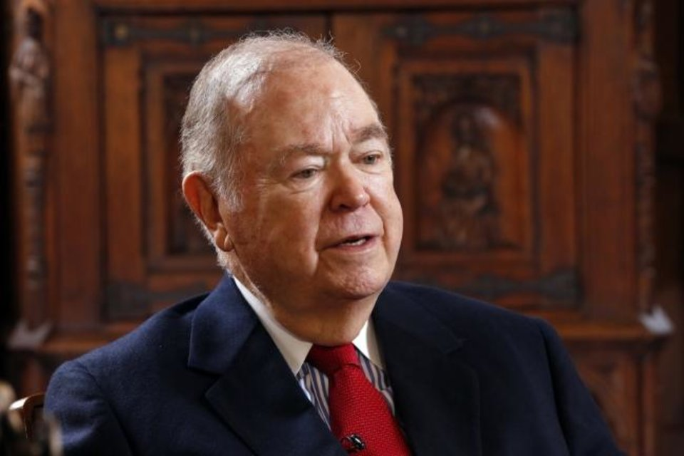 Photo -  David Boren is the former president of the University of Oklahoma and a former Oklahoma governor and U.S. senator.