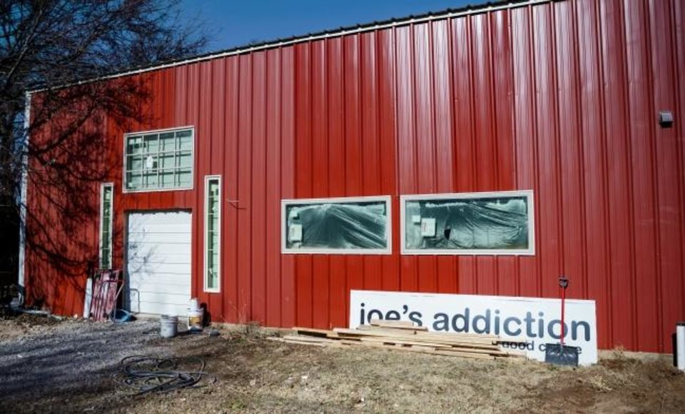 Photo - The new soon to be open Joe's Addiction coffee shop located at 1725 SE 59th St. in Oklahoma City, Okla. on Tuesday, Dec. 10, 2019. The non-profit Outrageous Love founder and pastor Jamie Zumwalt look to have the new location open by Christmas.   [Chris Landsberger/The Oklahoman]