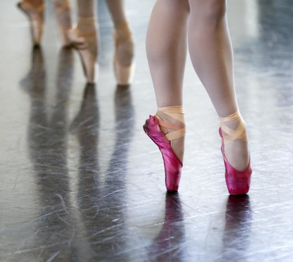 Photo -  Dancers rehearse on Dec. 19 for
