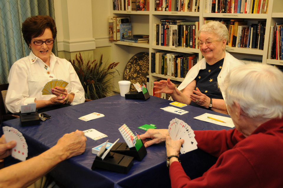 Photo - Activities are a major part of senior living. Photo provided.