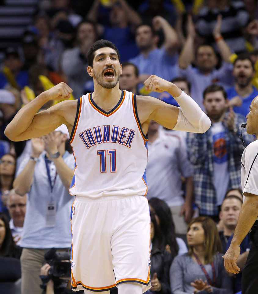 441dd1fb7b9 Enes Kanter is riding a hot streak into Monday s game against the Utah Jazz