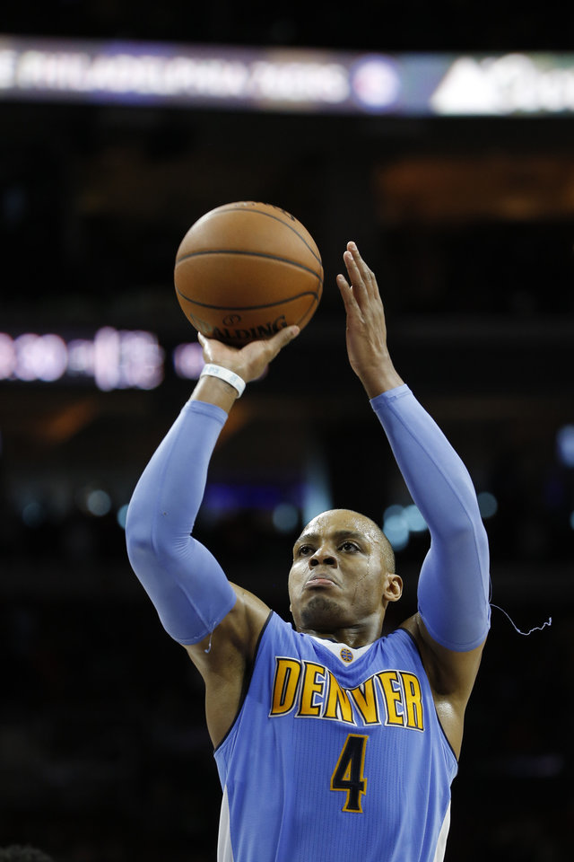 Photo - Randy Foye was acquired by the Oklahoma City Thunder on Thursday in a trade with the Denver Nuggets. (AP Photo)