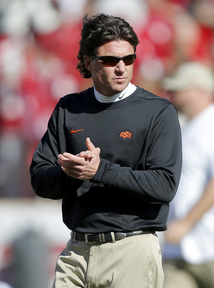 Osu Football Mike Gundy Addresses Excitement Discipline