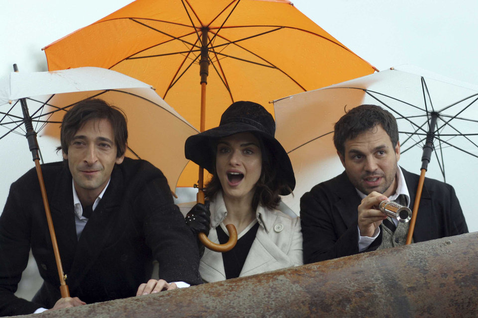Photo - Adrien Brody as Bloom, Rachel Weisz as Penelope Stamp and Mark Ruffalo as Stephen in