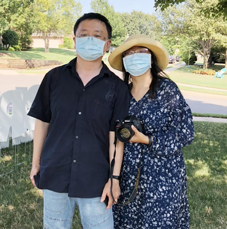 Photo - Drs. Ju and Jingxuan Yang. PHOTO PROVIDED