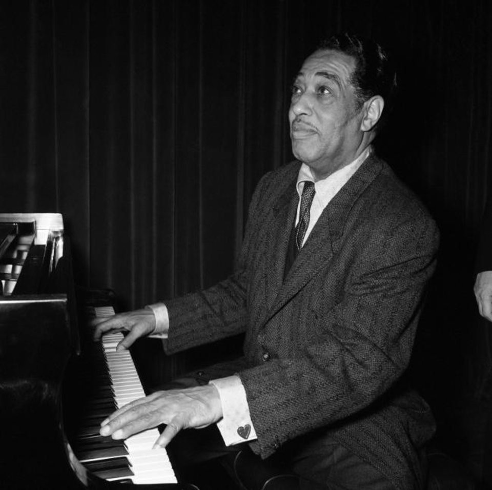 Photo -  Duke Ellington is seen on Oct. 27, 1958. [AP File Photo]