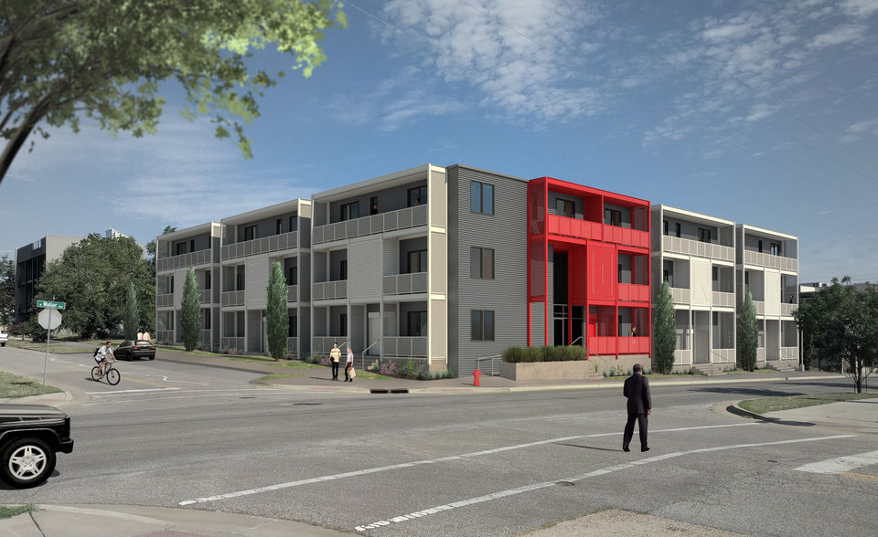 Apartments to replace old duplex in downtown Oklahoma City | News OK