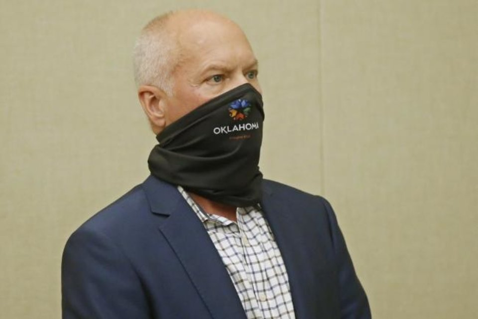 Photo -  Oklahoma Commissioner of Health Dr. Lance Frye. [AP Photo]