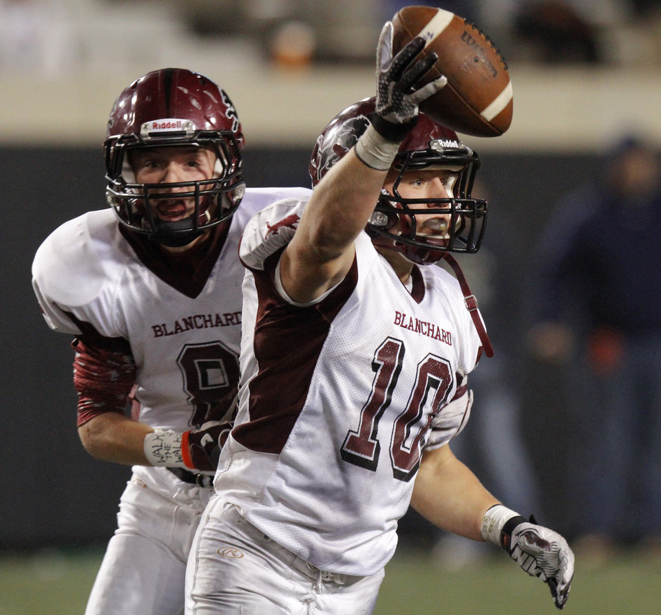 High school football: Blanchard excited to defend Class 3A ...