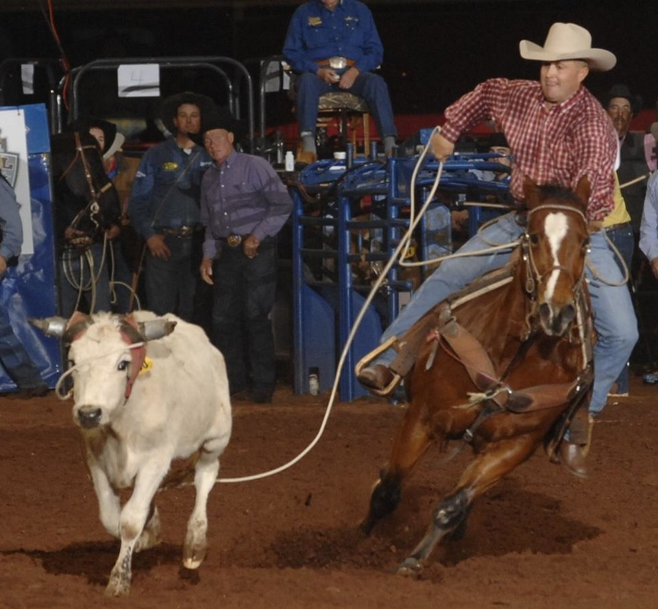 National Finals Steer Roping Results News Ok