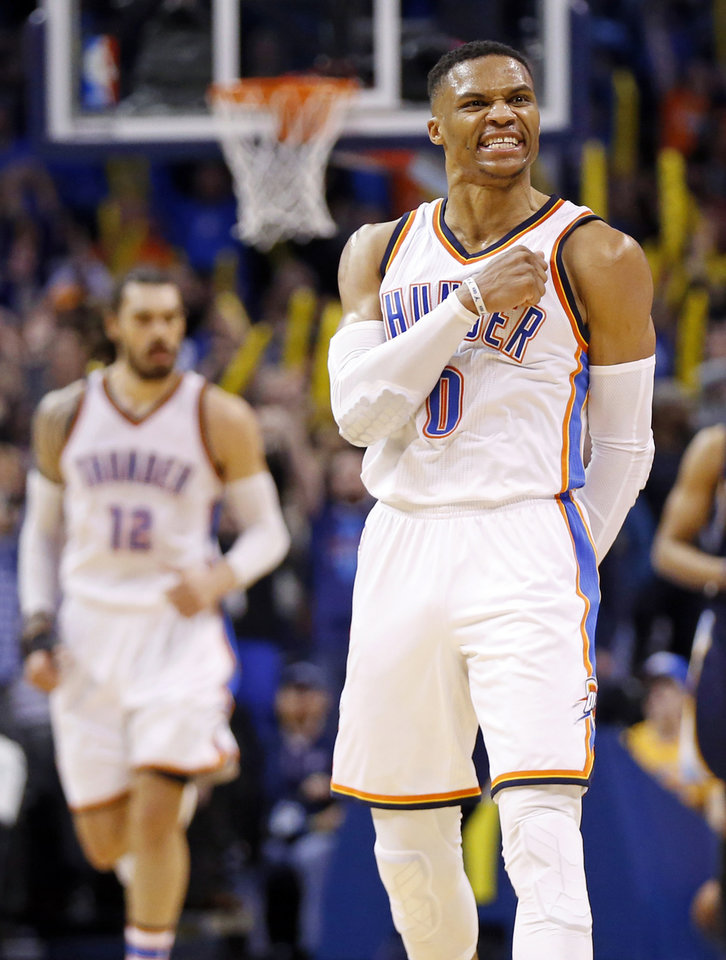 Thunder: Fearlessness fuels Westbrook\'s greatest hits in clutch
