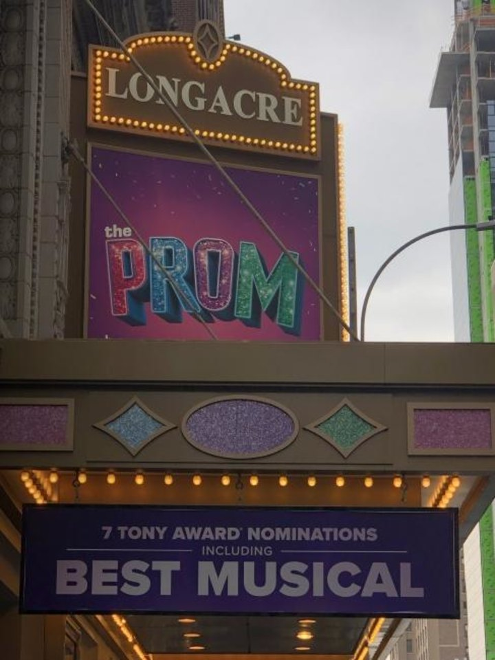Photo -  Playing at Broadway's Longacre Theatre, the musical